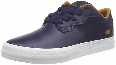 wholesale dealer 004e3 3ff37 Supra Mens Axle Navy Cathay Spice White Shoes