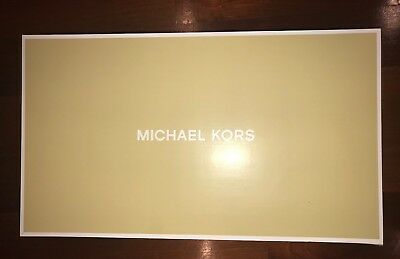 Empty Womens Michael Kors Over The Knee Boots Box Size 8.5 Bromley Flat