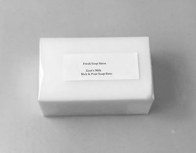 Goats Milk Melt and Pour Soap Base Low Sweat + free fragrance + 30 recipes