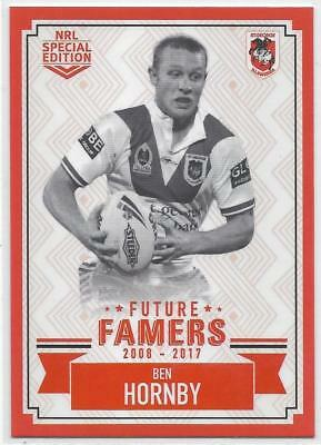 2018 Nrl Glory Future Famers (FF 26) Ben HORNBY Dragons