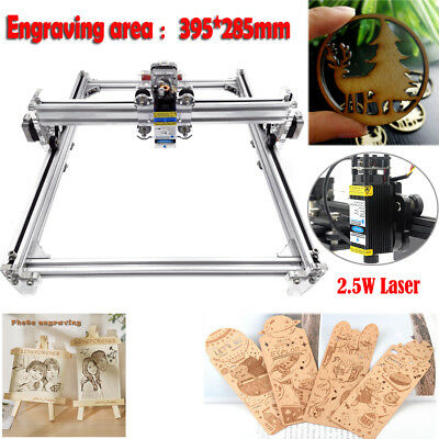 Mini DIY CNC 3040 Router Kit +2.5W Laser Wood Carving Engraving Milling Machine