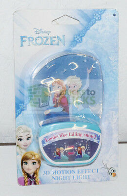 Disney 3D Motion Effect Frozen Anna and Elsa Night Light