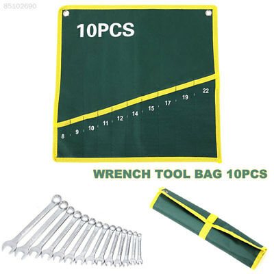 C7EF Pockets Canvas Wrench Pendant Bag Repair Kits Hydropower Green 10 Grid