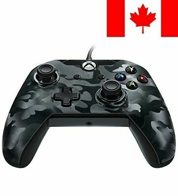 PDP Wired Controller for Xbox One - Black Camo
