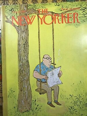 THE NEW YORKER Magazine August 12, 1967 Great W. STEIG Cover Art & Ads