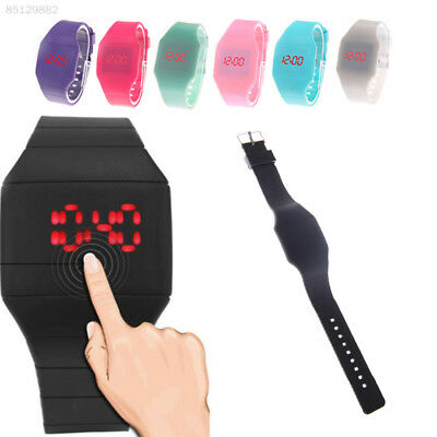 FEF1 Decorative Casual Digital Display Touch Control Wristwatches Casual Watch