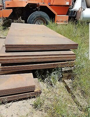 "HOT ROLLED STEEL PLATE / SHEET GRADE A-36  1/4"" x 96"" x 48"""