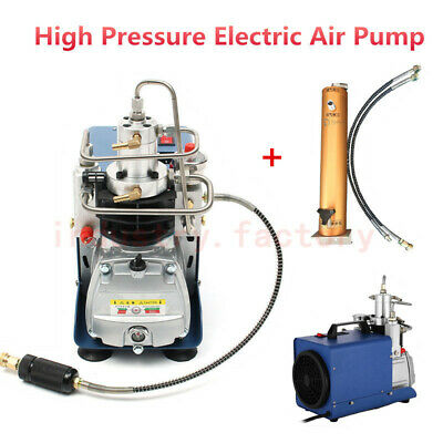 30Mpa 4500PSI High Pressure Air Pump PCP Compressor &Water-oil Filter Filtration