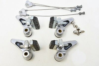 NOS 80's WEINMANN AG ALLOY CANTI-LEVER BRAKE SET COLLECTORS ITEM FOR ALLOY RIMS