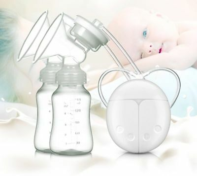Electric Hand Free Breast Pump Automatic Double Intelligent Baby Feeder USB