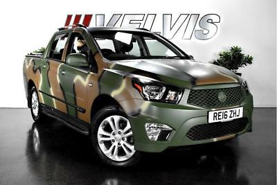Ssangyong Korando Sports Ex Pick-Up 2.0 Automatic Diesel
