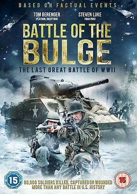 Battle Of The Bulge (Dvd) (New) (War) (Free Postage)