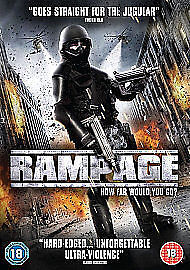 Rampage (DVD) (NEW AND SEALED) (REGION 2) (FREE POST)