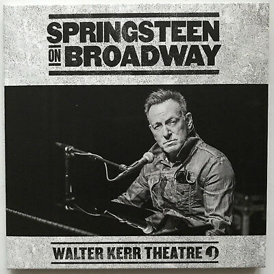 Bruce Springsteen ON BROADWAY Live at WALTER KERR THEATRE 2CD set in cardbox