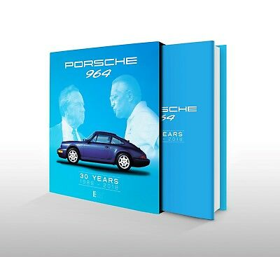 "Porsche 911 Book ""Porsche 964 - 30 YEARS - 1988 - 2018"" LIMITED EDITION 964 NEW"