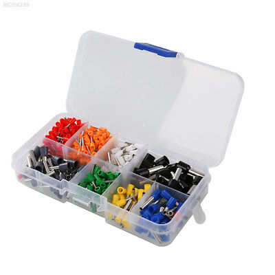 FD50 400Pcs Wire Crimp Connector Cord Pin End Terminal Ferrules Kit Set with Box