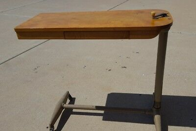 Antique Hospital Overbed Table USA estimate circa 1950's