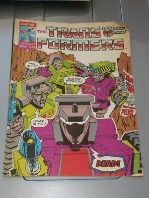 Marvel Transformers Comic Book No. 61 17th May 1986