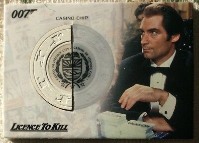 James Bond The Complete Relic Card RC6 Casino Chip