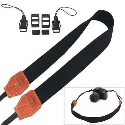 Vintage Nylon DSLR Camera Strap Shoulder Neck Belt For Canon Nikon Pentax Sony