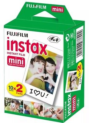 40 Shots Fuji Instax Mini 40 White Film for Fujifilm Mini 7s/8/9/25/50/90/70