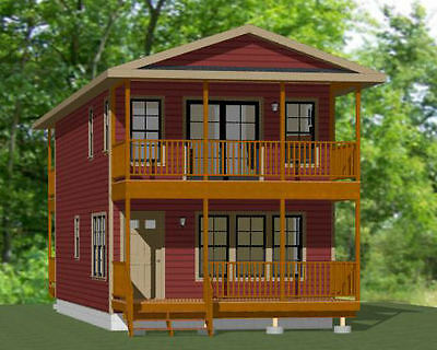 18x40 House -- 3 bedroom 2 bath -- 1,292 sqft -- PDF Floor Plan -- Model 7
