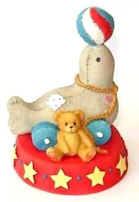 """Cherished Teddies """"seal Of Friendship"""" Circus Seal #137596  Free Shipping"""