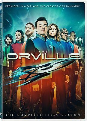 The Orville: The Complete First Season 1 One (DVD, 2018, 4-Disc)
