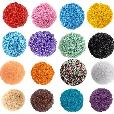 50 gms 3300pcs Opaque 11/0 Glass Seed Beads - Pick your Colour