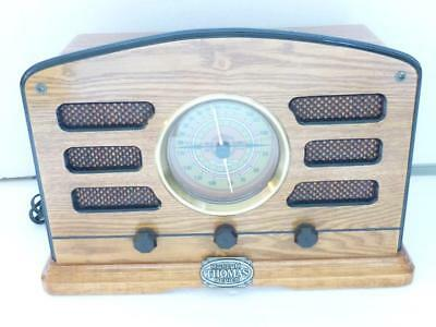 1998 Museum Thomas Series TPC-705 Oak Wood Am/FM Radio / Cassette Player EUC