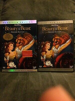 Beauty and the Beast Platinum Special Edition, With slip Cover DVD Disney