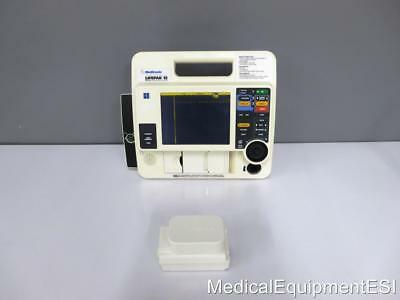 Lifepak 12 Biphasique 3 Câble Ecg Aed Als Stimulation SLA Batterie