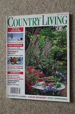 Country Living May 93 - James Lovelock, Scything, The Burren, Kites, James Lynch