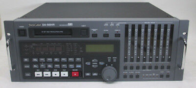 TASCAM DA-98HR High Res 24-Bit DTRS Recorder Player w/ 2x IF-AN98HR A/D Boards