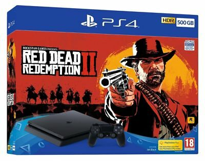 Sony Ps4 500Gb Console And Red Dead Redemption 2 Bundle Brand New And Sealed