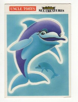 Uncle Tobys Australia - Glowing Sea Creatures - Dolphin