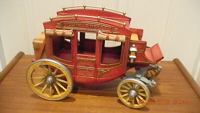Ghirardelli & Sons Chocolate Co. Large Candy Box Western Stagecoach Display