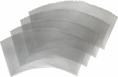 "1 BCW Clear 33rpm Record Polypropylene Sleeves (12-3/4"" X 13"")"