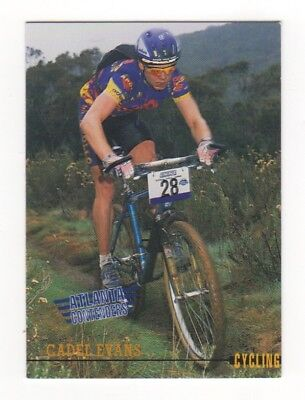 Australian Olympic Card. Cycling - Cadel Evans