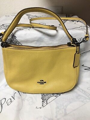 65c1c712cb COACH CHELSEA LADIES Small Leather Crossbody Handbag 56819LINAV ...