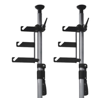Photo Studio Background Paper Hooks with Clamps Support System Mounting Lighting