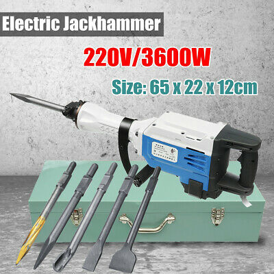 Drill Chisels For Electric Demolition Hammer Concrete Breaker Jackhammer  AU
