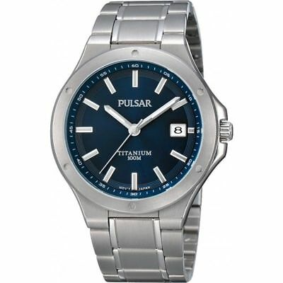 Orologio in Titanio da Uomo Pulsar PS9123X1 by Seiko Men's Titanium Watch Nuovo