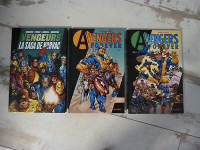 Lot 3 Best of Marvel AVENGERS éditions Panini
