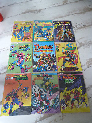 lot de 9 bds Avengers Artima Color Superstar n° 6 à 14