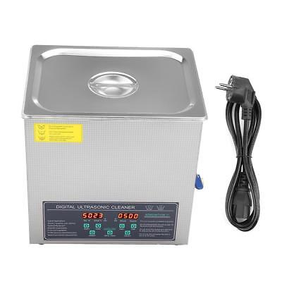 Double-frequency Digital Stainless Steel Ultrasonic Cleaner Cleaning Machine ec