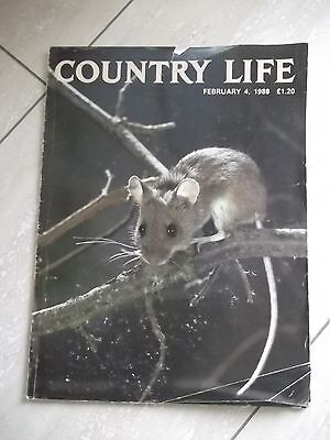 Country Life Magazine. Dated February 4, 1988