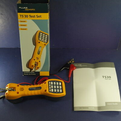 Brand New Fluke TS30 Test Set, OB