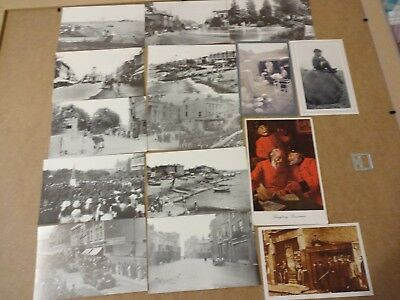 British Postcards Vintage repro's x 15 ; Library Services