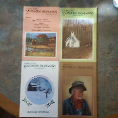 First Four Issues: A Guide To The Southern Highlands 1975~76;